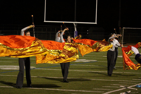 Homecoming Show, Oct 12, 2012, Falcon March Band, photos by R. DeBoer