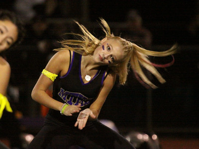 Homecoming halftime shows, Oct 17, 2014, Cheer, Dance Squad, Band, and Royal Court, photos by R DeBoer