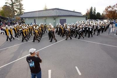 Marching into Oak School