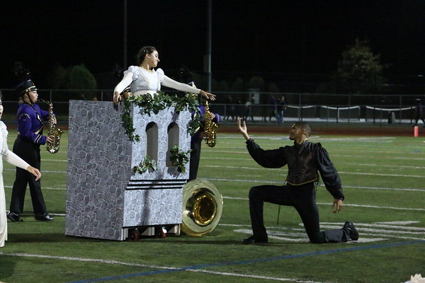 Sept. 21, 2018 Homecoming Halftime show, photos by R. DeBoer