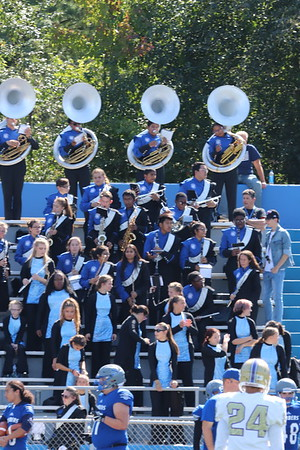 Sept. 29, 2018 Sayreville Bomber Cheer Squad and Band Halftime Show, photos by R. DeBoer