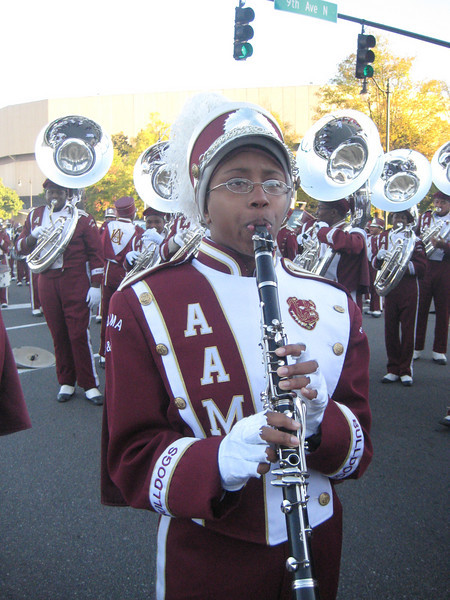 Marching Maroon and White