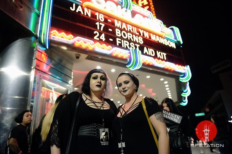 Marilyn Manson & Amazonica, Jan 16, 2018 at Fox Theatre