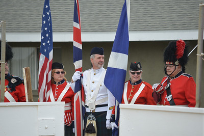 The Third Marine Aircraft Wing Band and the Massed Pipes and Drums, 24 May 2014