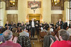 The MSO and Maestro Les Marsden receive an ovation as they prepare to open their annual spring concert in Yosemite National Park.<br /> <br /> Great Lounge, The Ahwahnee Hotel<br /> Yosemite National Park<br /> May 2nd, 2010