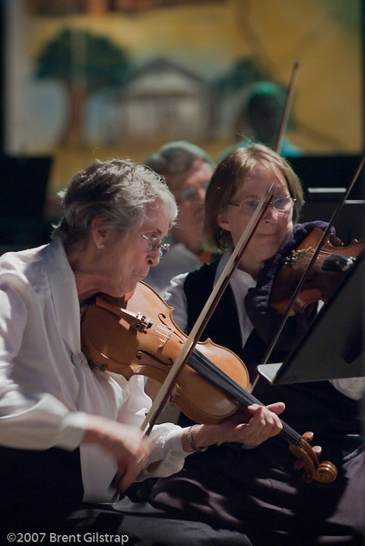 Violins: Isabel West and Karen Whitmyre