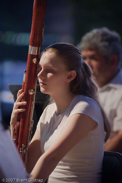 Bassonist Lily Vanderveer