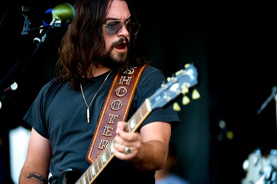 Shooter Jennings at Riverbend Music Center for the Warped Tour