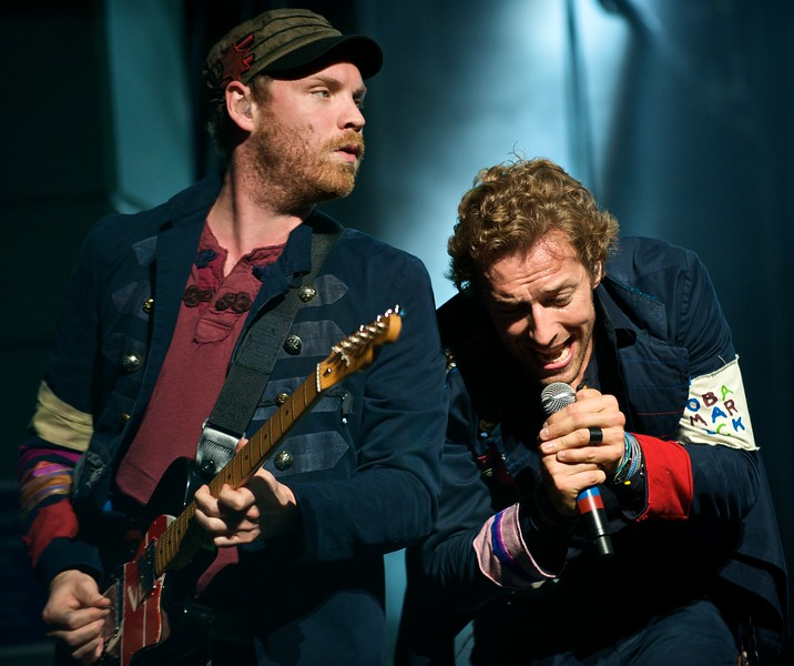 Coldplay Performs in Cincinnati, OH