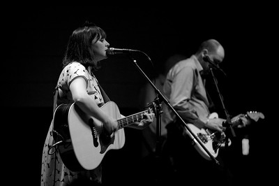 Camera Obscura performing live at the Southgate House