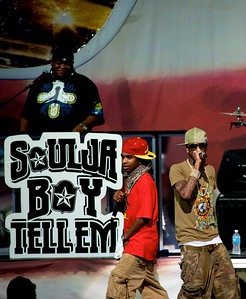 Soulja Boy opens for Lil Wayne at Riverbend Music Center Sept 3, 2009.