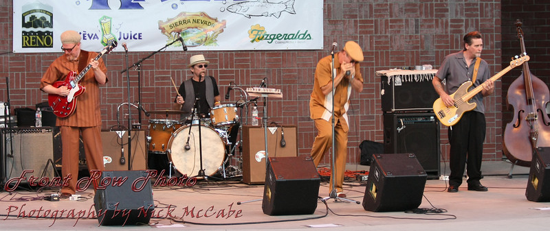 The band consists of (L to R):<br /> Rusty Zinn, Mick Kilgos, Mark Hummel, and RW Grigsby