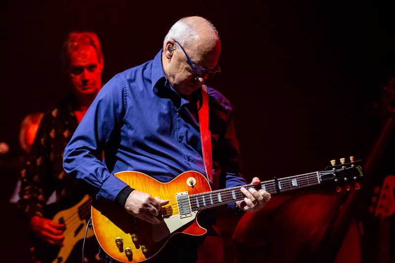 Mark Knopfler at the Old National Centre in Indianapolis, IN. Photo by Tony Vasquez for Jams Plus Media.