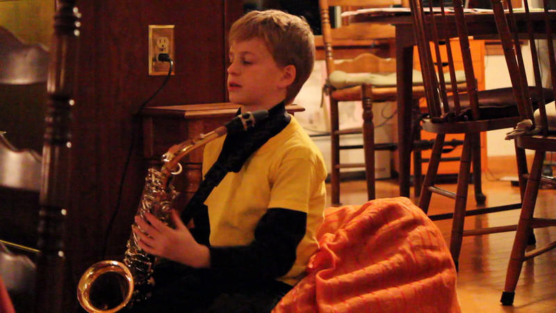 Mark on Sax