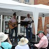 Forty Something performing in the Markham Music Festival on Main Street.