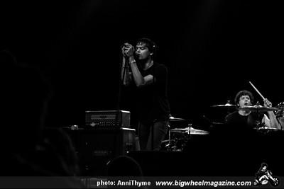 Marky Ramone with Andrew W.K. - Figo - at Fonda Theatre - Los Angeles, CA - October 15, 2013