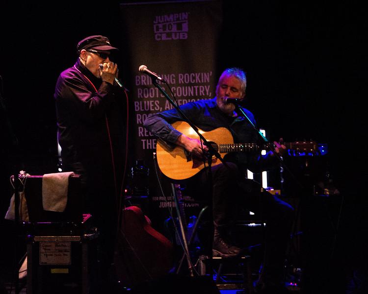 Martin Fletcher and Chris James