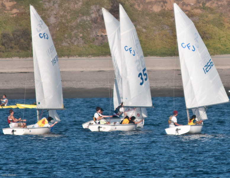 Thomas and Alex in #35 Running Downwind