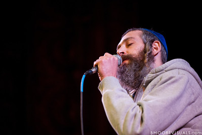 Matisyahu performs on February 13, 2011 in front of a sold-out crowd during An Acoustic Evening with Matisyahu at Tampa Theatre in Tampa, Florida