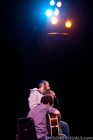 Matisyahu and DP Holmes perform on February 13, 2011 in front of a sold-out crowd during An Acoustic Evening with Matisyahu at Tampa Theatre in Tampa, Florida