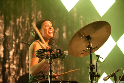 Kim Schifino performs during Matt & Kim's sold-out show on October 15, 2010 at State Theatre in St. Petersburg, Florida.