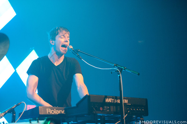 Matt Johnson performs during Matt & Kim's sold-out show on October 15, 2010 at State Theatre in St. Petersburg, Florida.