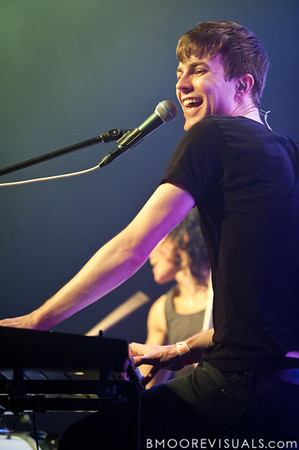 Matt Johnson performs during Matt & Kim's sold-out show on October 15, 2010 at State Theatre in St. Petersburg, Florida