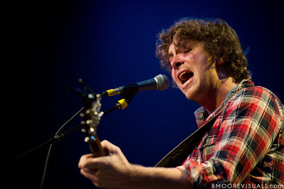Matt Wertz performs on March 14, 2010 at Plaza Theatre in Orlando, Florida