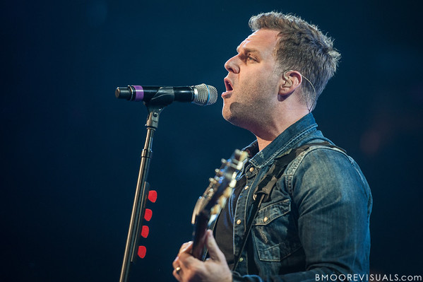 Matthew West performs on January 12, 2013 during Winter Jam at Tampa Bay Times Forum in Tampa, Florida