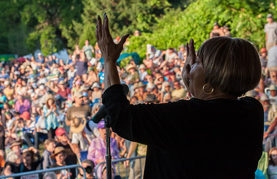 Mavis Staples on the Rainbow Stage.