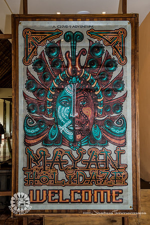 Mayan Holidaze Day 1 Fans & Event Grounds - 12/17/13 - Now Sapphire Resort, Puerto Morelos Mexico. ©Josh Timmermans 2013