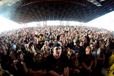 The Crowd at Riverbend Wednesday