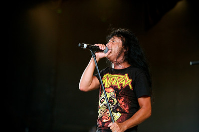 Anthrax performs at PNC Pavilion on Tuesday for Mayhem Fest
