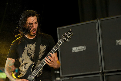 As I Lay Dying performs at Riverbend Tuesday for Mayhem Fest