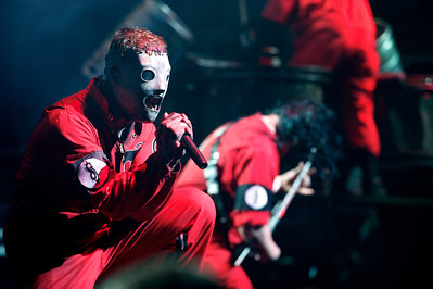Slipknot performs Tuesday at Riverbend for Mayhem Fest