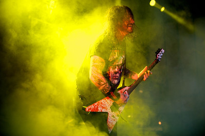 SLAYER performs Tuesday at Riverbend for Mayhem Fest