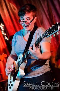 Mount Sharp performing at Mayo Street Arts on April 26, 2013.