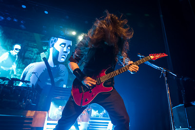 Kiko Loureiro of Megadeth performs at The Warfield in San Francisco on 2/29/2016