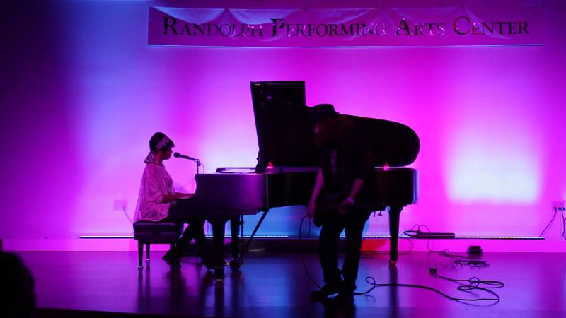 """Diamonds""<br /> <br /> performed by Megan Rose and Kyle<br /> written by Sia Furler, Benjamin Levin, Mikkel S. Eriksen, Tor Erik Hermansen<br /> original song by Rihanna (2012)"