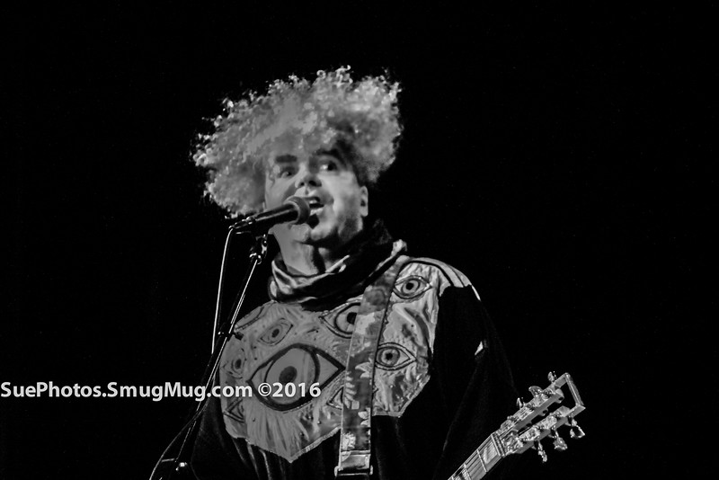 Northampton, Massachusetts, USA,27th August, 2016. Buzz Osborne, founding member and lead singer for Melvins, at the Calvin Theatre.