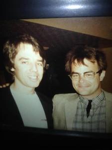 Buddy Davis and Dan Ackroyd