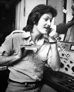 Rick Dees @WHBQ-AM in 1977