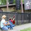 The Littlest Picker enjoys music at Merlefest.