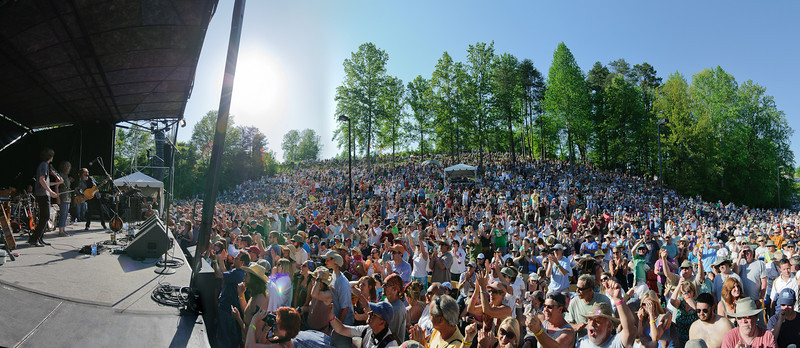 The Waybacks on the Hillside Stage @ Merlefest 2011