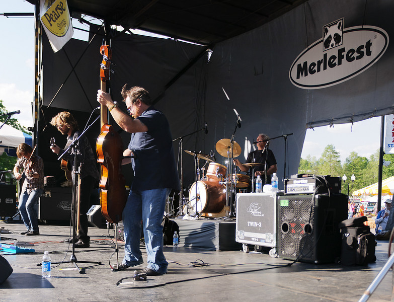 The Waybacks on the Americana Stage @ Merlefest 2011