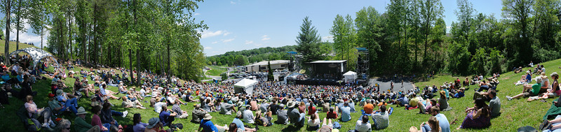 John Cowan Band on the Hillside Stage @ Merlefest 2011