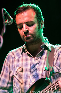 Greg Jehanian of mewithoutYou performs on August 8, 2012 in support of Ten Stories at State Theatre in St. Petersburg, Florida