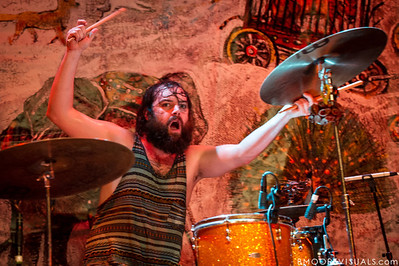 Rickie Mazzotta of mewithoutYou performs on August 8, 2012 in support of Ten Stories at State Theatre in St. Petersburg, Florida