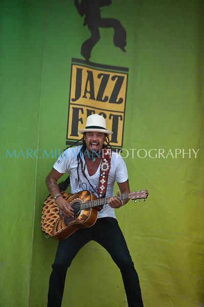 Franti jazzed (Gentilly Stage- Sun 5/8/11)