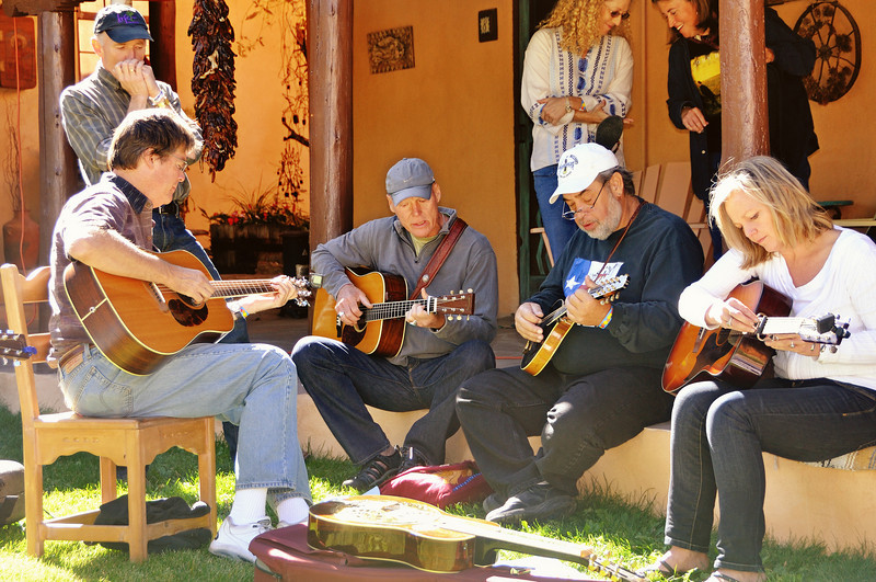 Song swap at Old Taos Guesthouse